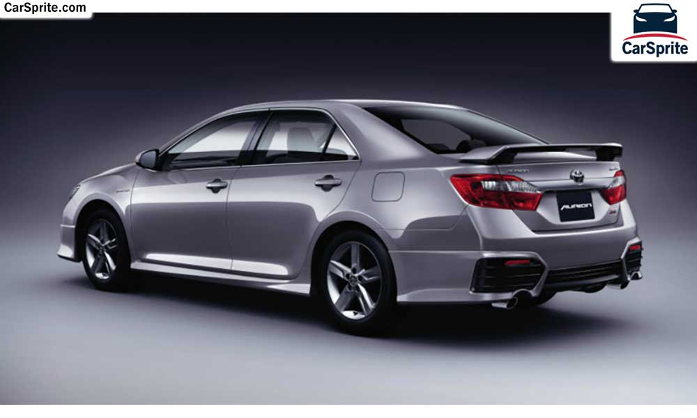 toyota aurion 2017 prices and specifications in bahrain