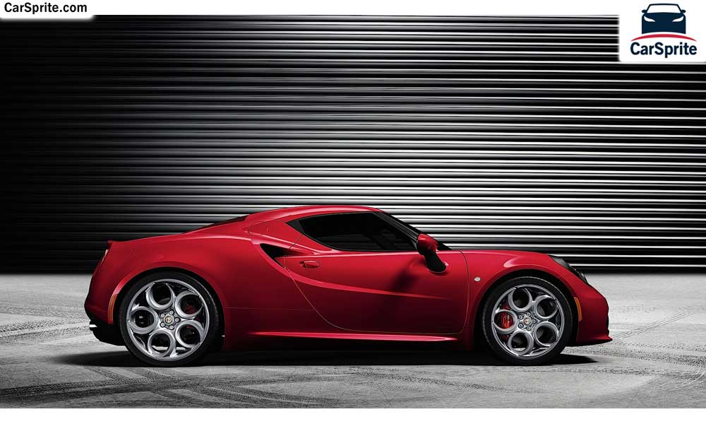 Alfa Romeo 4C 2017 prices and specifications in Bahrain | Car Sprite