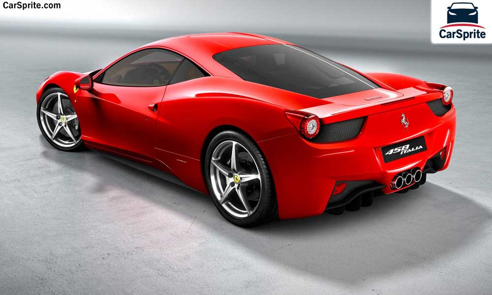 Ferrari 458 2017 Prices And Specifications In Bahrain