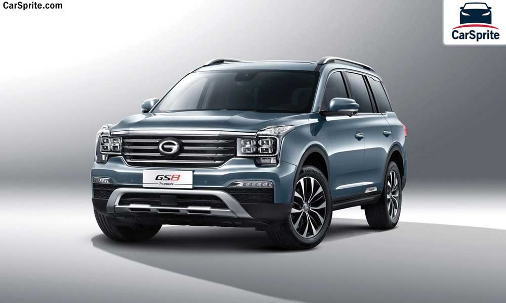 GAC GS8 2019 prices and specifications in Bahrain | Car Sprite