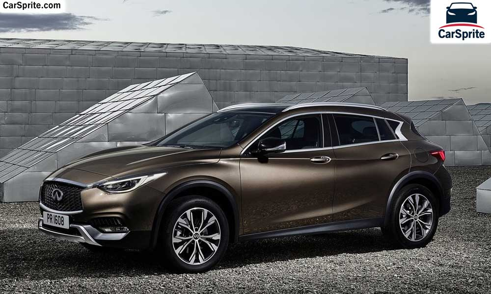 Infiniti QX30 2018 prices and specifications in Bahrain | Car Sprite