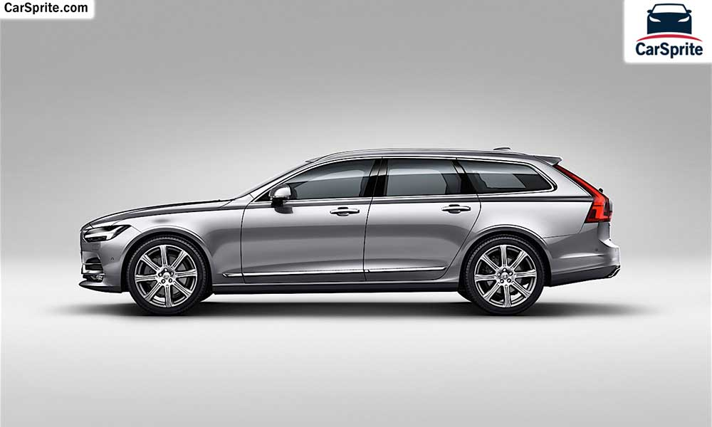 Volvo V90 2018 prices and specifications in Bahrain | Car Sprite