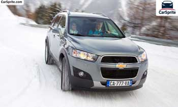 Chevrolet Captiva 2017 prices and specifications in Bahrain | Car Sprite