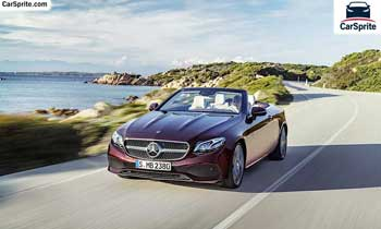 Mercedes Benz E-Class Cabriolet 2018 prices and specifications in Bahrain | Car Sprite
